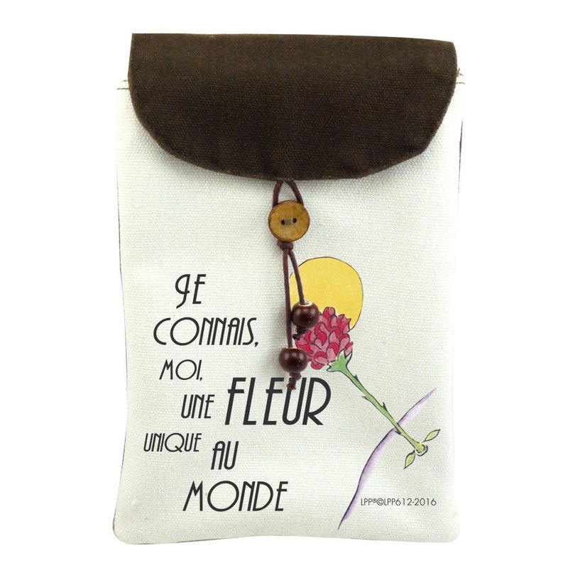 The Little Prince Classic authorization - cell phone pocket: [Exclusive] love (shoulder)