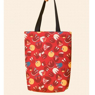 Illustration Printed Pack - Red Tulip
