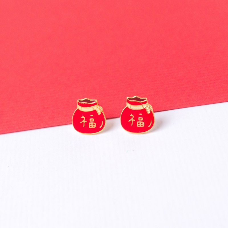 Lucky Bag | New Year Series Earrings