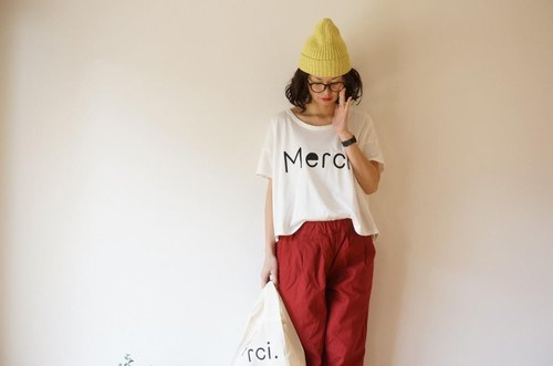 Cotton Merci T-shirt LADY'S