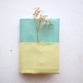 Simple double-layer handmade book / book cover (notebook / diary / PDA)