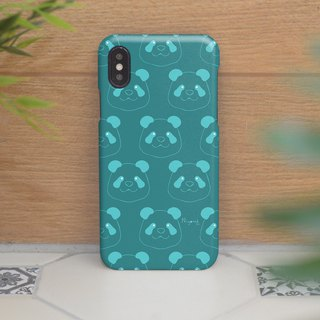 iphone case blue pattern panda for iphone5s,6s,6s plus,7,7+, 8, 8+,iphone x