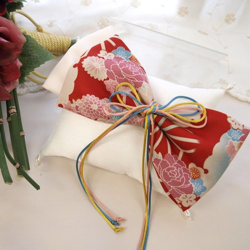 Wedding Japanese-style ring pillow [response rate]