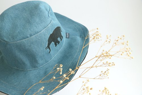 Mary Wil Handsome Hooded Hat - Cowboy Elephant
