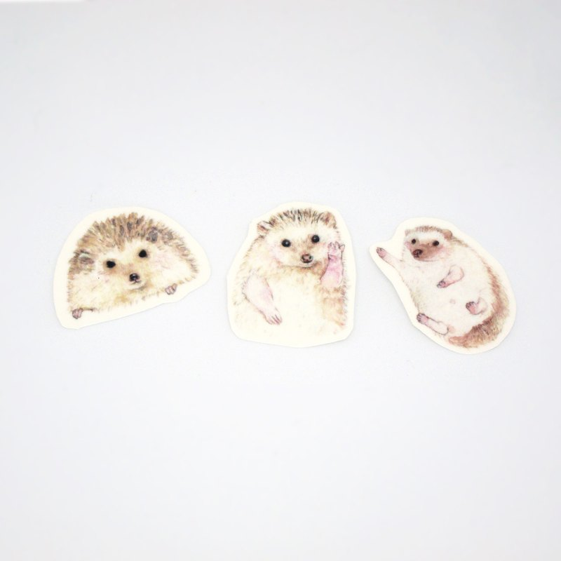Cute Hedgehog Tattoo Stickers Tattoos Stickers