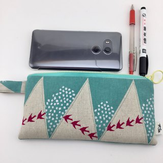 Migratory birds - mobile phone bags / pencil bags / universal bags