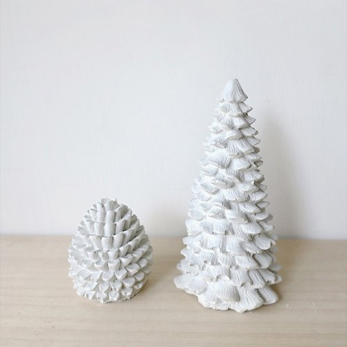 [Cement] endorphin pine forest and pine cones Diffuser / paperweight / ornaments / gift