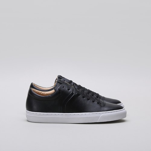 [JIM RICKEY] CLOUD WOMEN SNEAKER - PREMIUM LEATHER - BLACK