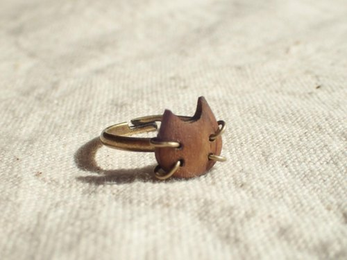 cat pinke ring