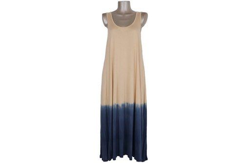 Adult gradient tank top resort long dress <Sunset>