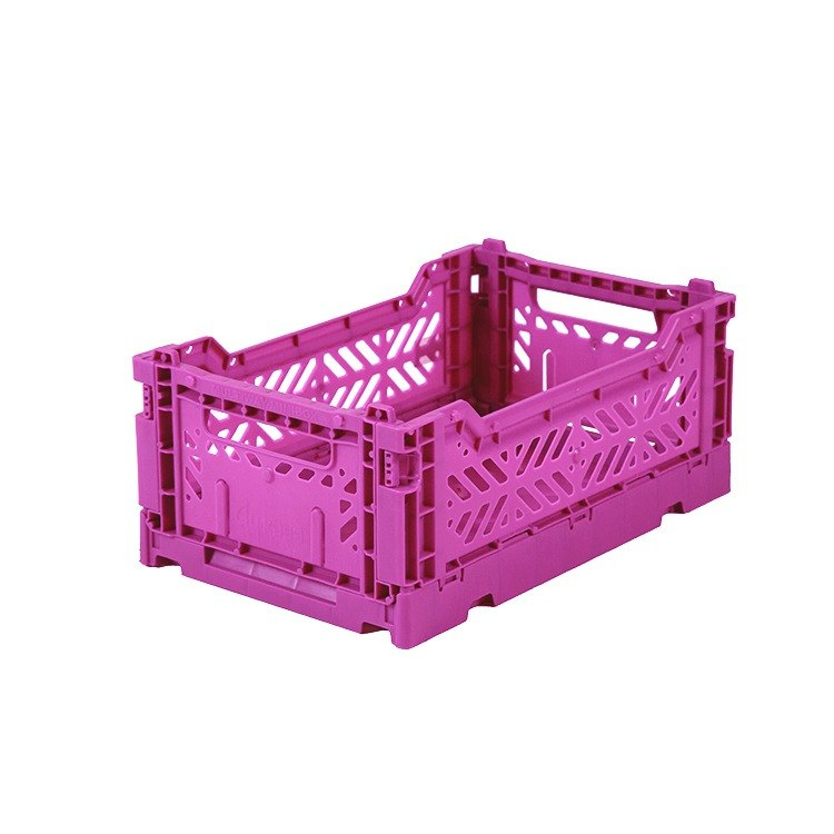Turkey Aykasa Folding Storage Basket (S) - Violet