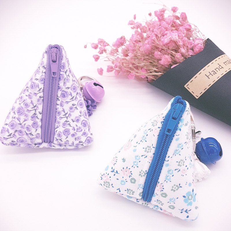 Dumpling Coin Keychain Pouch - Floral Collection (2 pc in a set)