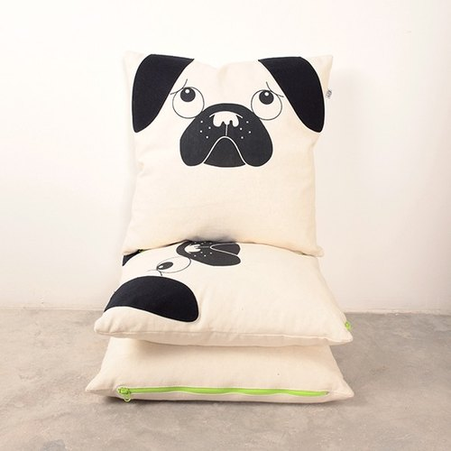 It's a Pug's life Cushion Cover