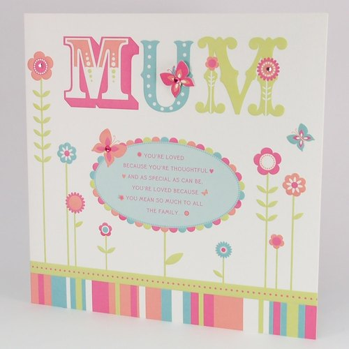 Mom I love You | UK Mother's Day card