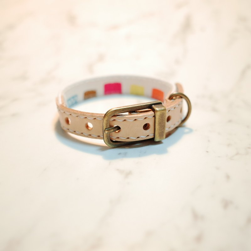 Dog collars, S size, Happy fruit party, watermelon_DCT090437