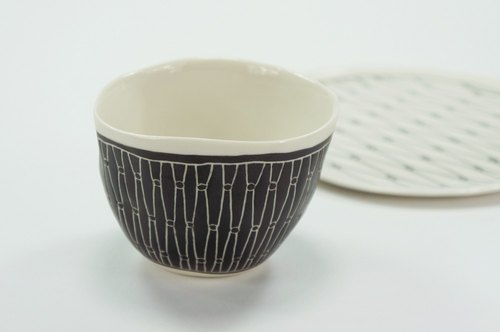 Lane Lane - Taiwan Iron Window Cup (Black)