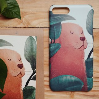 iphone case print high quality with dog leaf