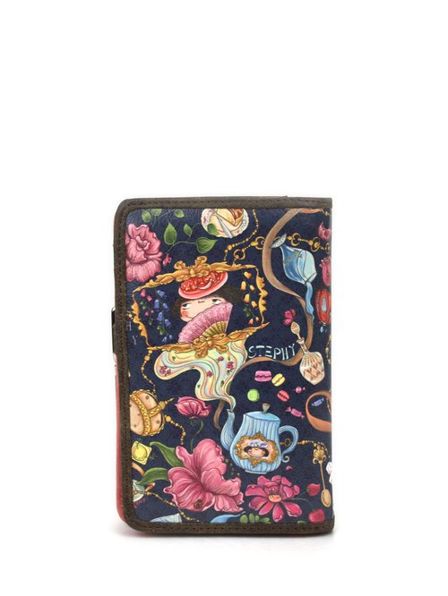 Stephy fruit brand SB025-DH palace feast series of female models cute art prints wallet / purse