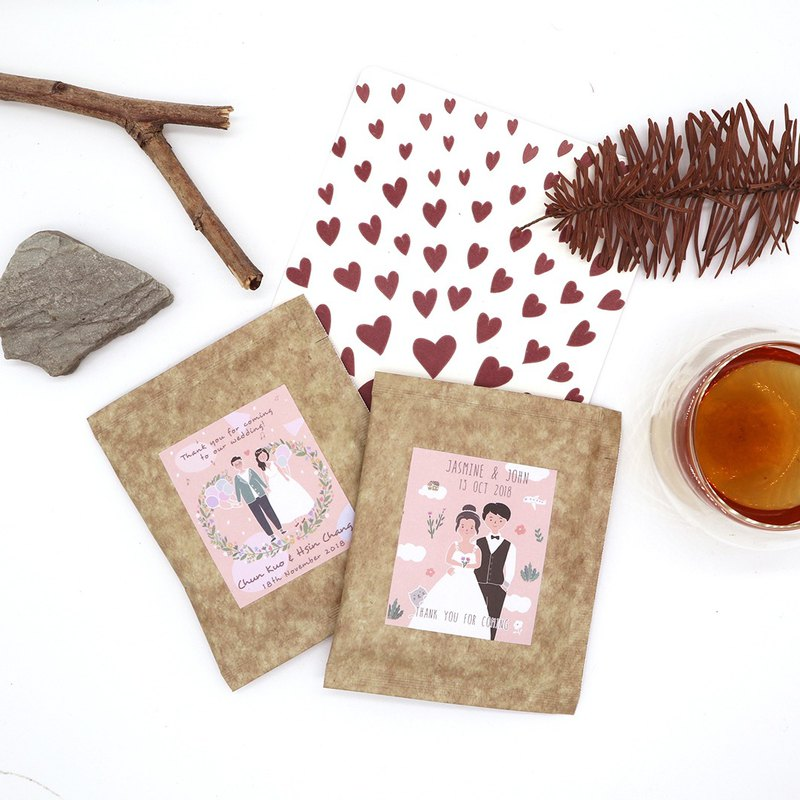 KerKerland-Wedding Small Custom - Natural Farm Tea Bag