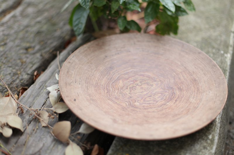 [Good day fetish] Germany vintage handmade wooden plate wooden utensils tea tray / storage / shooting props / ornaments
