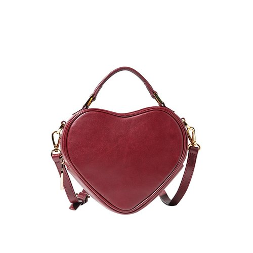 Cupid love the texture of leather hand shoulder bag