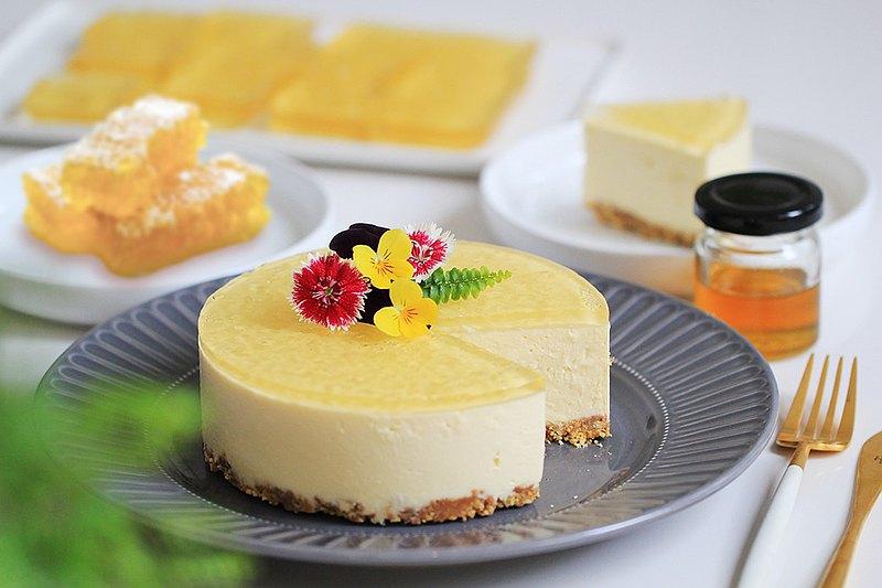 母親節公益蛋糕 -蜂蜜生乳酪蛋糕