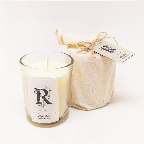 Art Lab - Alphabet Fragrant Candle - Rain Forest