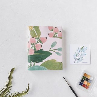 Portable watercolor sketchbook | 300 lbs A6 fabriano | Spring and summer