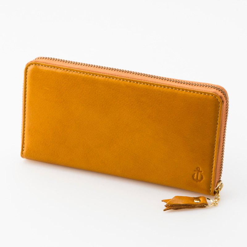 Moist Long Wallet Round Type