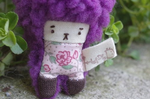 Mini Duo Bunny - grape hair color -039 Fenfen flower