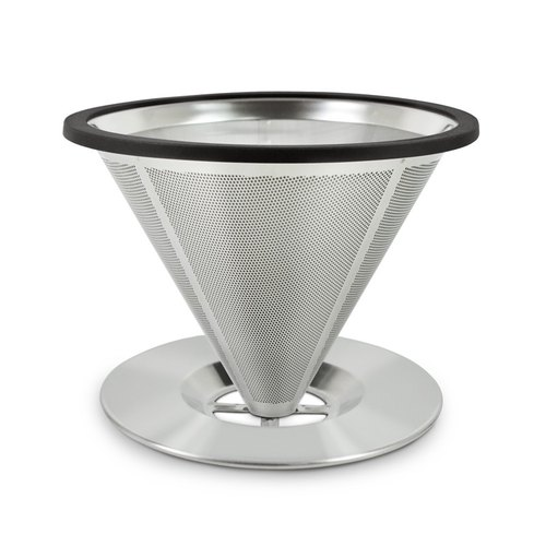 Driver vertical stainless steel filter bowl 1-2cup