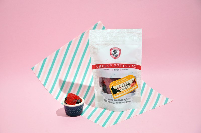 (Short-term offer) Share Pack - Cherry Gummy Bear Candy WILD & CHERRY GUMMY BEARS