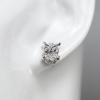 zo.craft Owl Earrings / 925 Silver