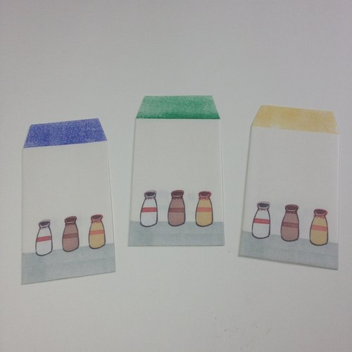 Mini envelope set[print]