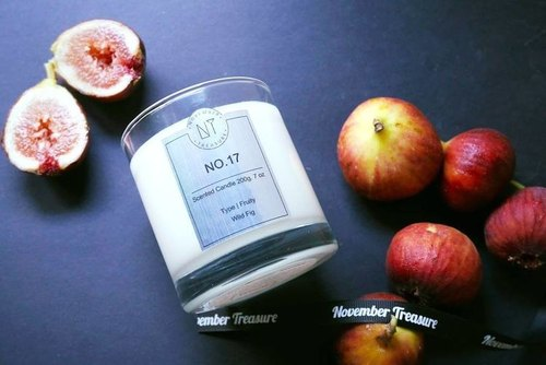NO.17: WILD FIG - Fragrance Fragrance Candle