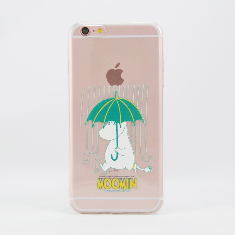 Moomin Moomin authorized - [rain walk] -TPU phone shell <iPhone/Samsung/HTC/ASUS/Sony/LG/小米> AE76