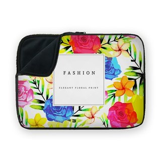 Fashion Floral waterproof shock-absorbing laptop bag BQ4-OGDS4