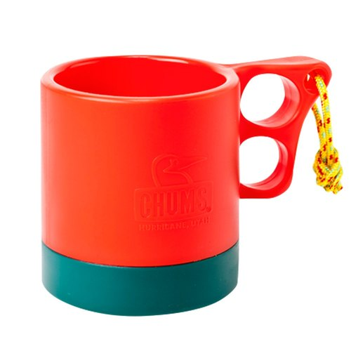 Exchanging gifts CHUMS 250ml camping mug insulation cold red / dark green