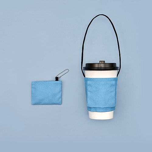 YCCT Eco Beverage Bag Classic - Simple Series (No Pattern) - Patent Storage is not afraid to forget