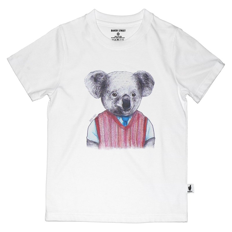 British Fashion Brand [Baker Street] Koala Printed T-shirt for Kids