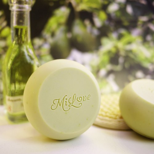 【Laurel Pear Pear Cold Soap】 Dry / Sensitive Skin Handmade Soap Single Dress
