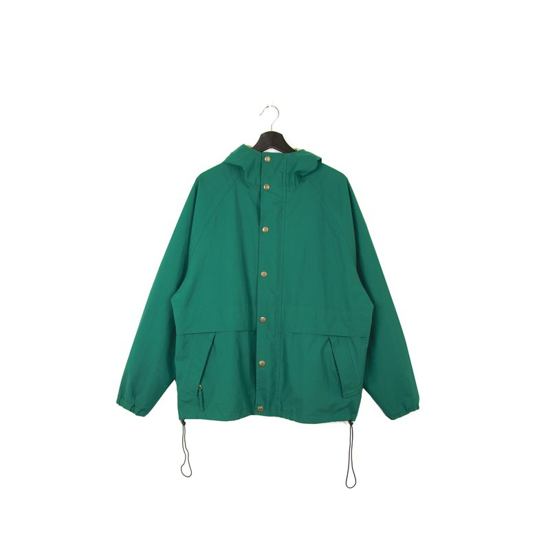 Back to Green:: 防風外套 Woolrich草綠  //男女皆可穿// vintage outdoor(CO-13)