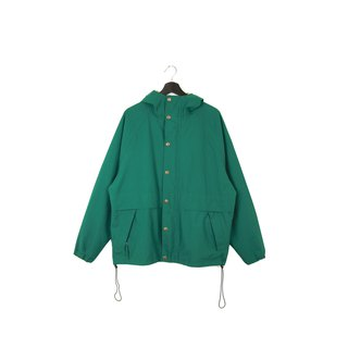 Back to Green :: Windbreaker Woolrich Grass // Unisex // vintage outdoor (CO-13)