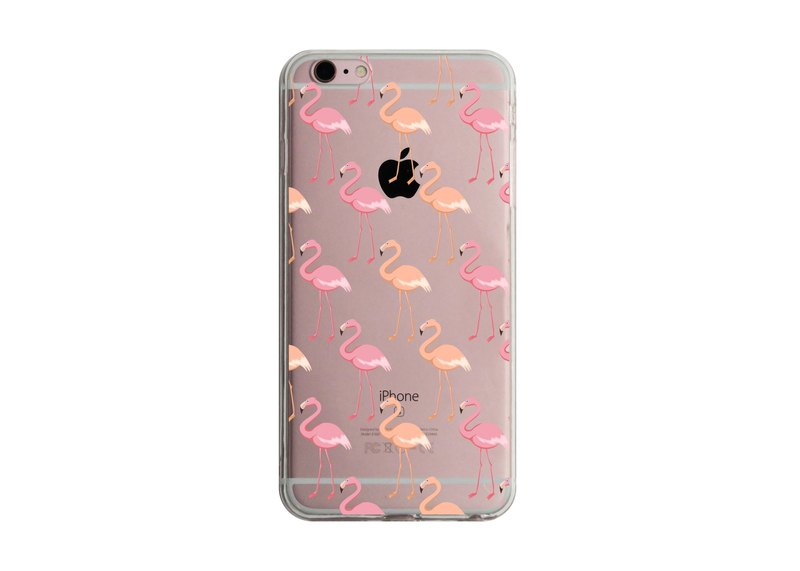 Custom gradient flamingo transparent Samsung S5 S6 S7 note4 note5 iPhone 5 5s 6 6s 6 plus 7 7 plus ASUS HTC m9 Sony LG g4 g5 v10 phone shell mobile phone sets phone shell phonecase