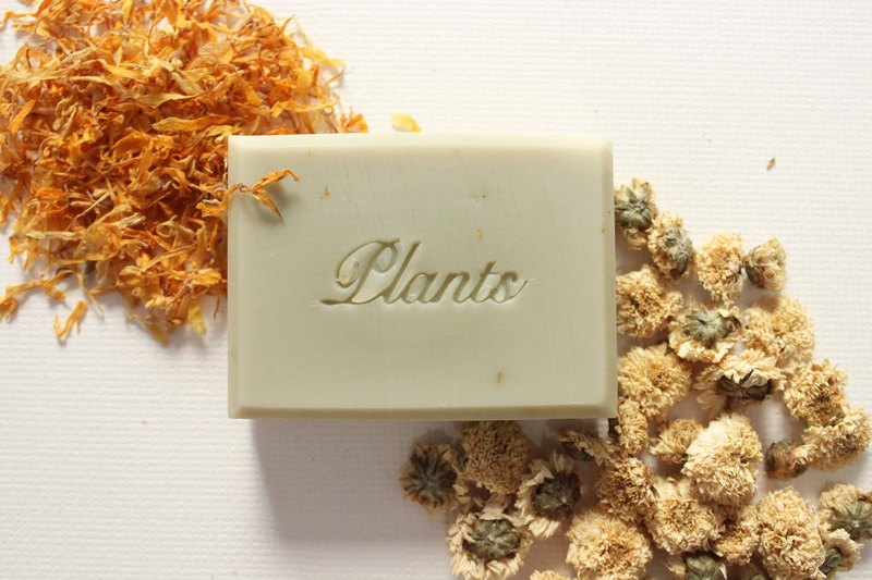 Jinzhi chamomile conditioning soap. Calendula low sensitivity series. Planting Square, natural flowers and handmade soap