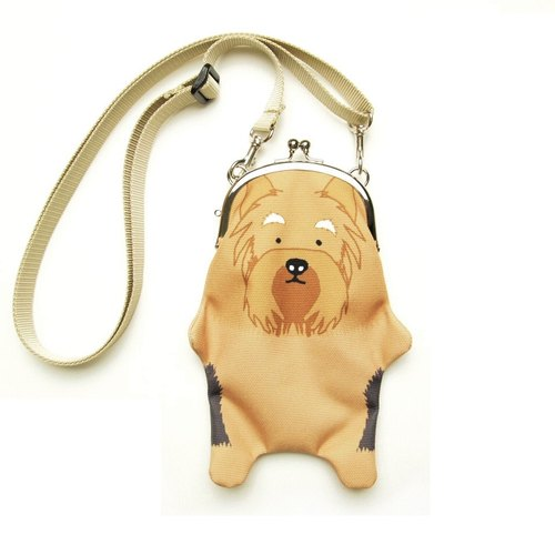 Yorkshire terrier purse Sumaho pochette