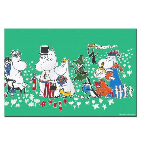 Moomin Moomin authorization - Picture frame 30 * 40cm: [Birthday Party]