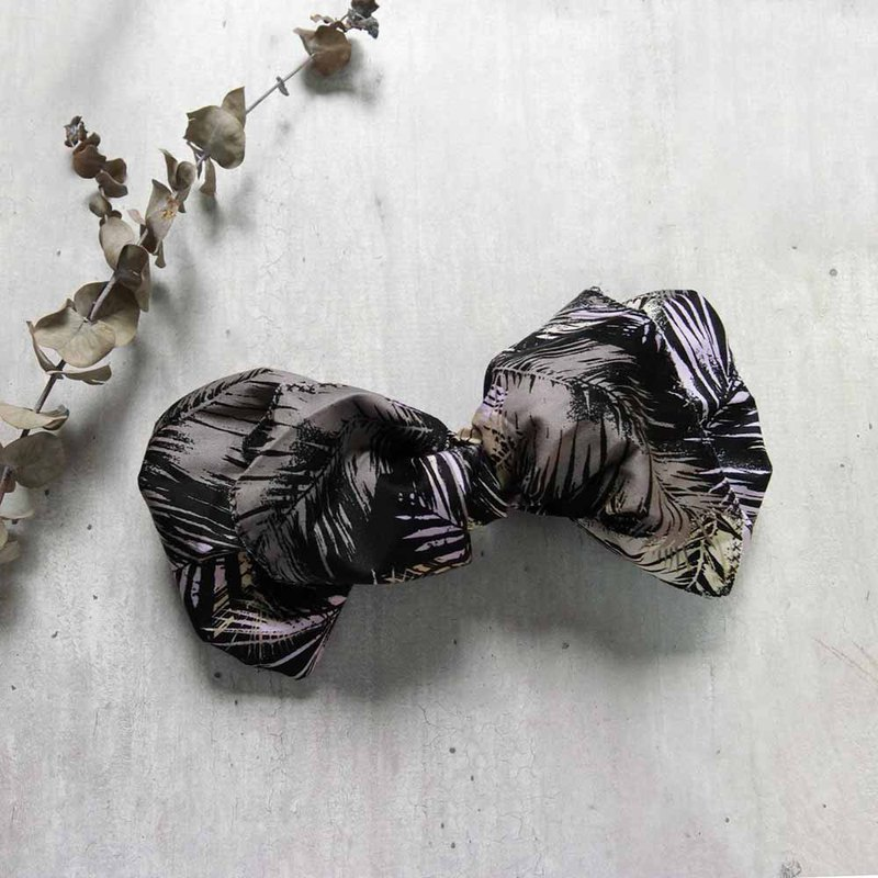 Dark purple jungle giant butterfly hair band - the whole strip can be taken apart