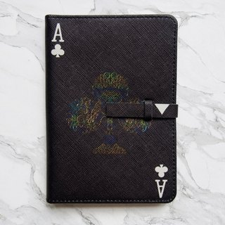 Club Card Passport Cover Case [Black] - The Magician Collection