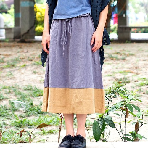 Calf Calf Village ├ original village not Zhuangshan ┤ pounds thick autumn and winter spell color Skirt {only} a milk pudding